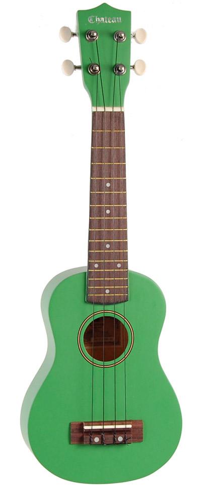 Image of   Chateau C08-U1100-GN ukulele grøn