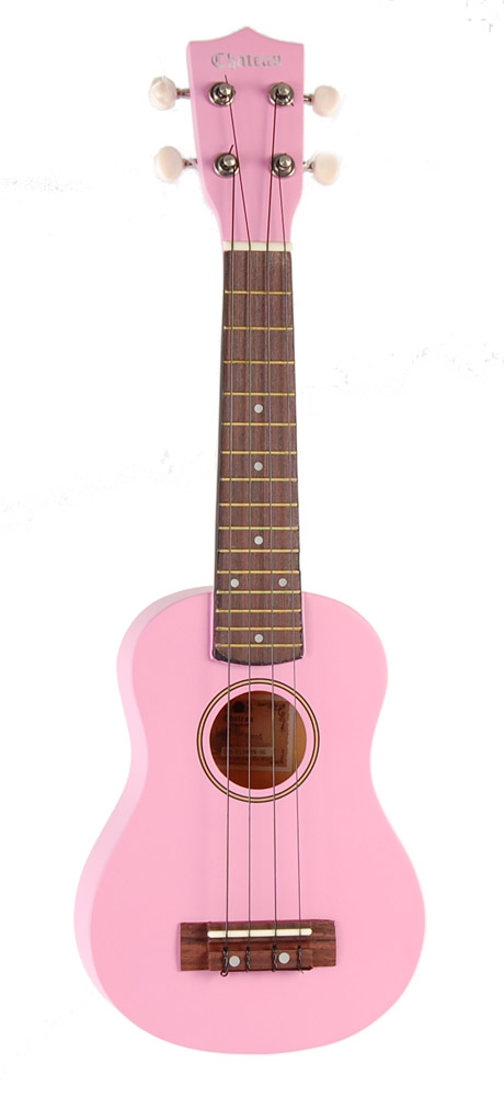 Image of   Chateau C08-U1100-PK ukulele pink