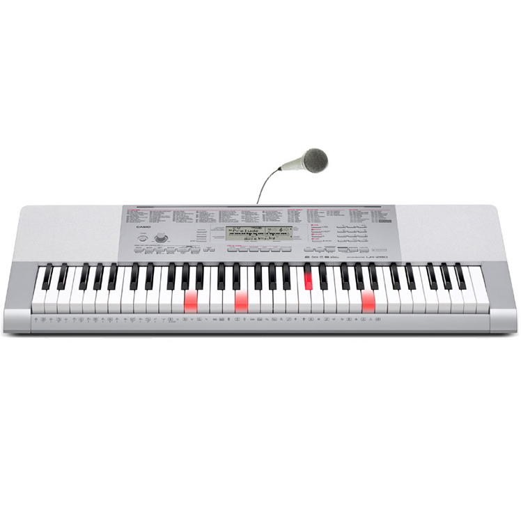Billede af Casio LK-280 keyboard grå