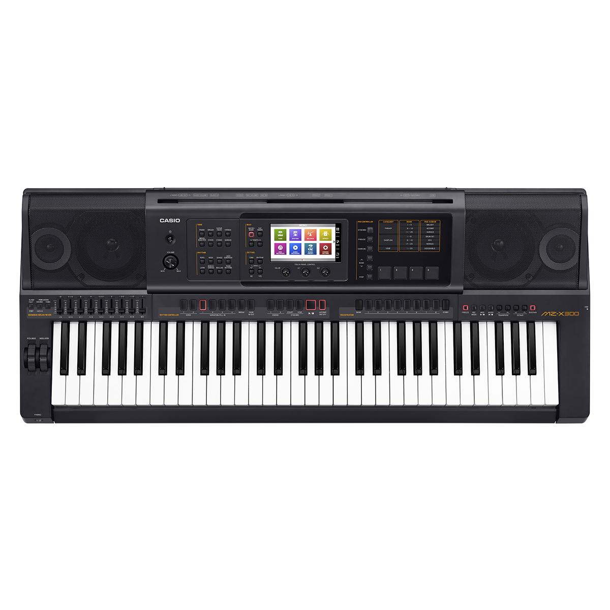 Billede af Casio MZ-X300 keyboard sort