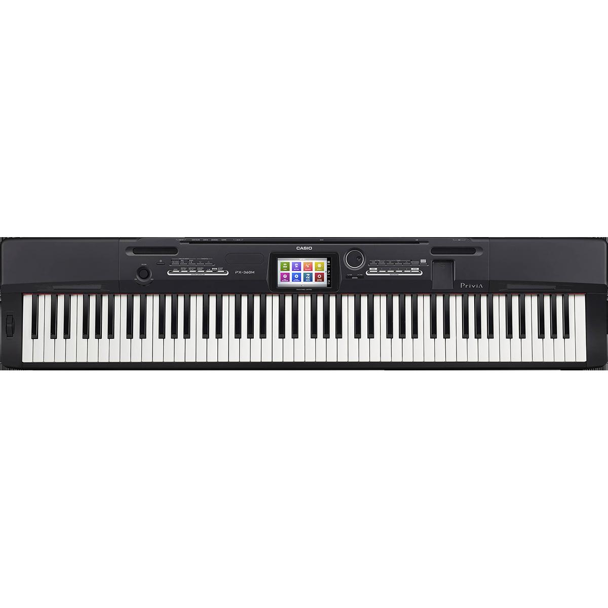 Image of   Casio PX-360-MBK el-klaver