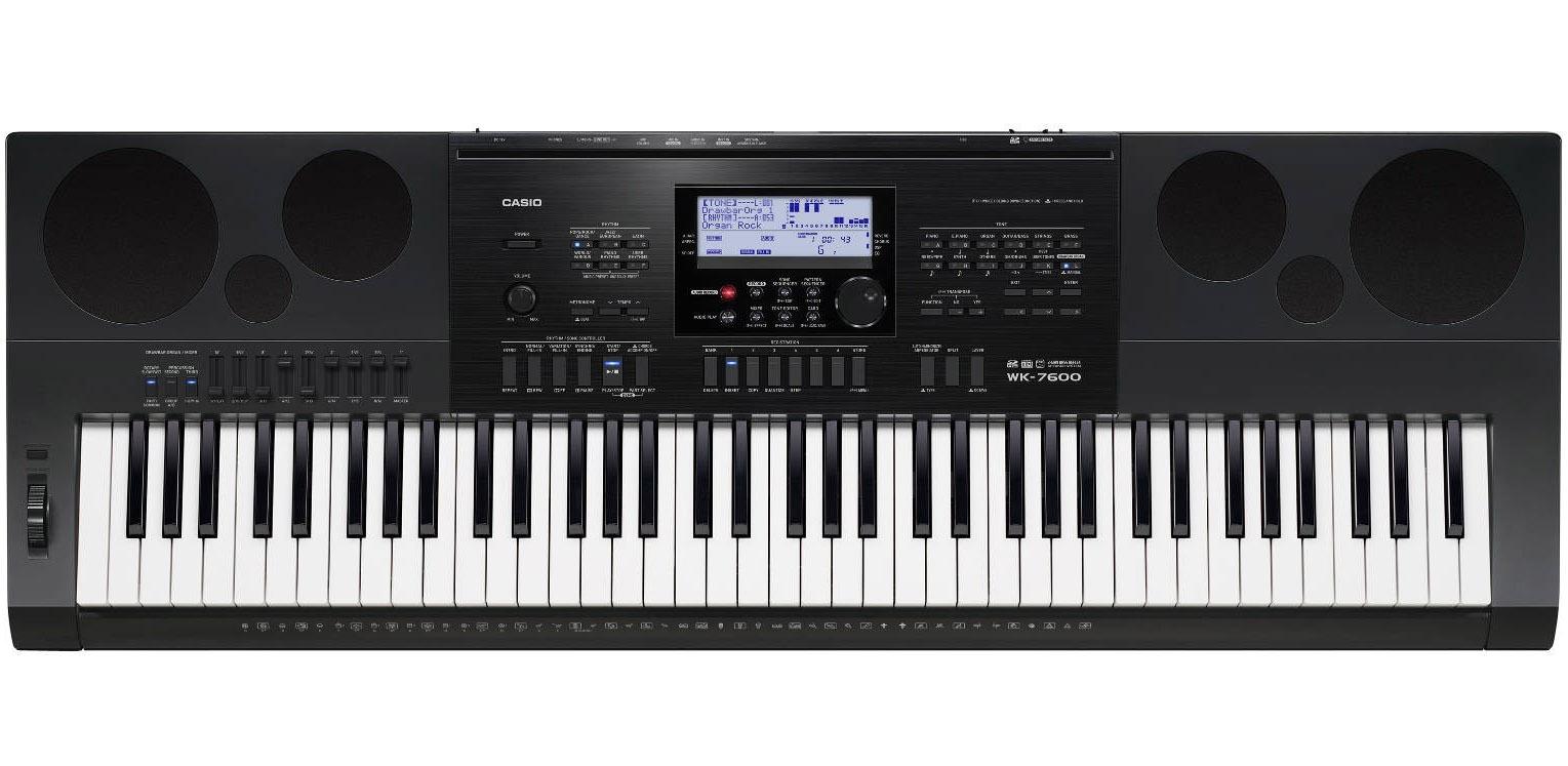 Billede af Casio WK-7600 keyboard sort