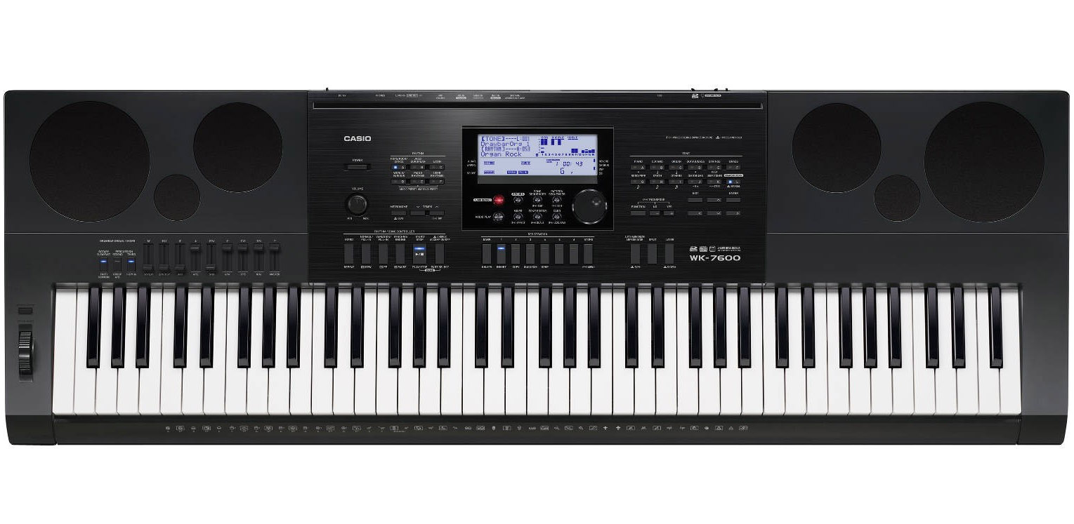 Image of   Casio WK-7600 keyboard sort