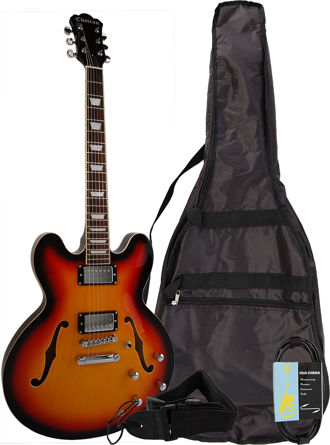 Image of   Chateau C08-JG1-SB el-guitar sunburst