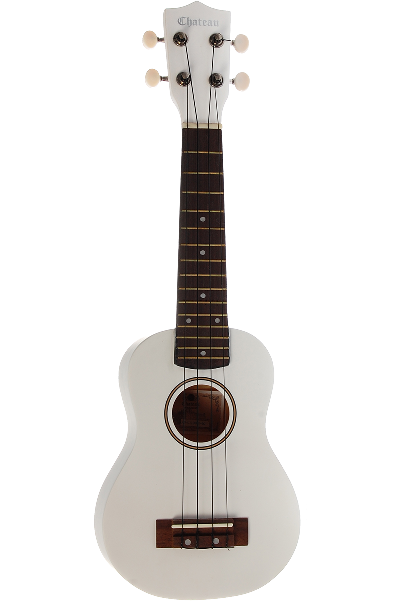Billede af Chateau C08-U1100-WH ukulele hvid
