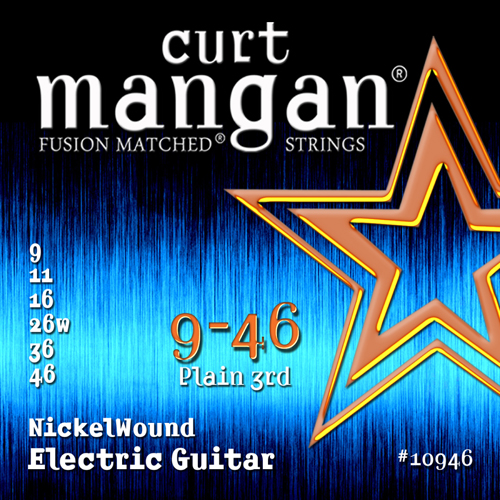Image of   CurtMangan 10946NickelWound el-guitarstrenge009-046