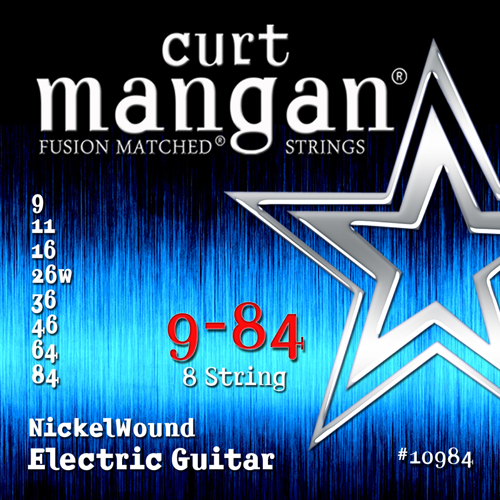 Image of   CurtMangan 10984NickelWound 8-strengetel-guitarstrenge009-084