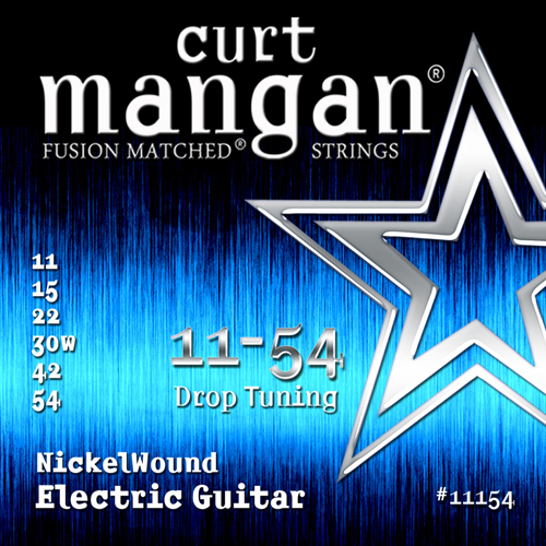 Image of   CurtMangan 11154NickelWound el-guitarstrenge011-054