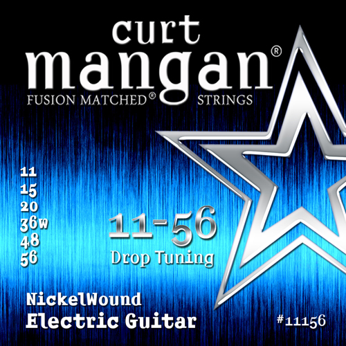 Image of   CurtMangan 11156NickelWound el-guitarstrenge011-056