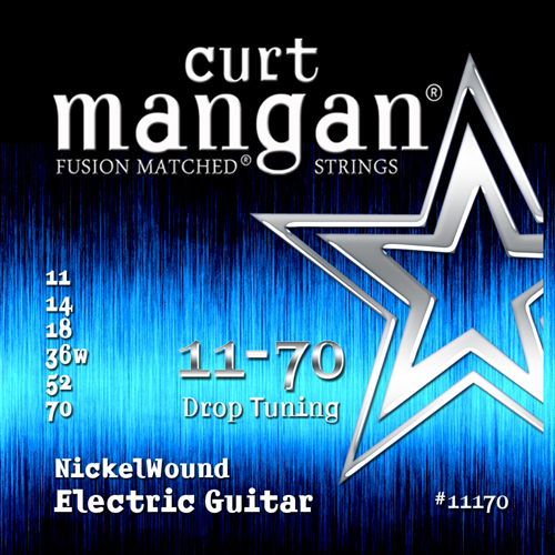 Image of   CurtMangan 11170NickelWound el-guitarstrenge011-070