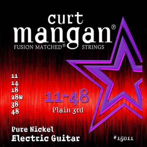 Billede af CurtMangan 15011PureNickel el-guitarstrenge011-048