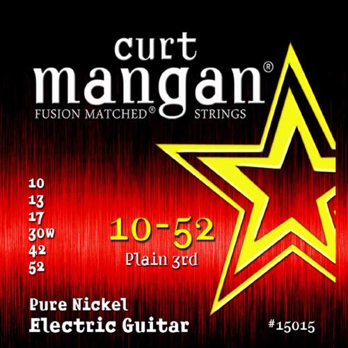 Billede af CurtMangan 15015PureNickel el-guitarstrenge010-052