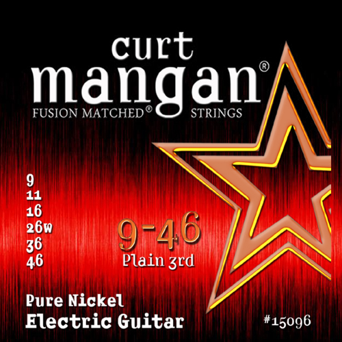 Billede af CurtMangan 15096PureNickel el-guitarstrenge009-046