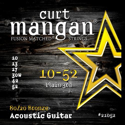 Image of   CurtMangan 2105280/20Bronze western-guitarstrenge010-052