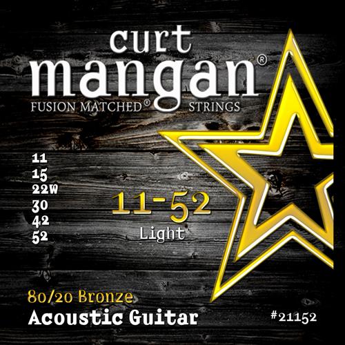 Billede af CurtMangan 2115280/20Bronze western-guitarstrenge011-052