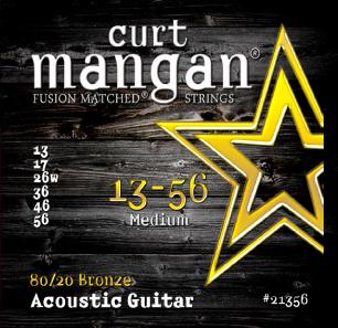 Billede af CurtMangan 2135680/20Bronze western-guitarstrenge013-056