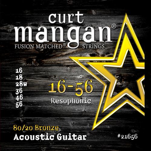 Billede af CurtMangan 2165680/20Bronze western-guitarstrenge016-056