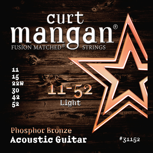 Image of   CurtMangan 31152PhosphorBronze western-guitarstrenge011-052