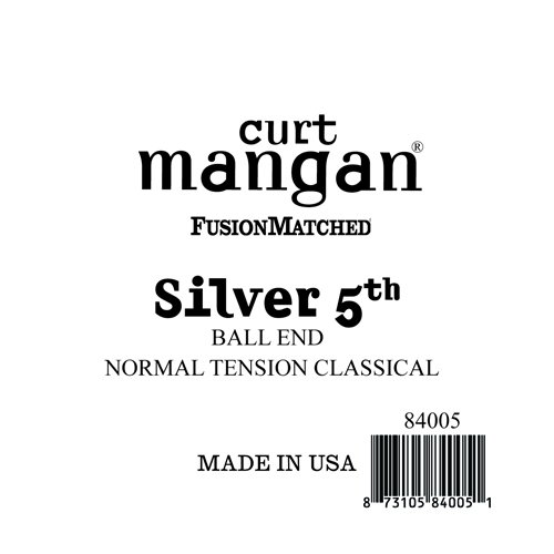 Image of   CurtMangan 84005 løssilver-wound5thspanskguitarstreng,ball-end