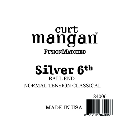 Image of   CurtMangan 84006 løssilver-wound6thspanskguitarstreng,ball-end