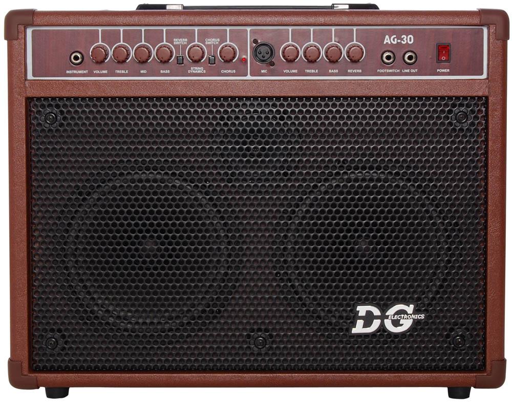 Billede af DGelectronics AG-30 akustiskguitarforstærker