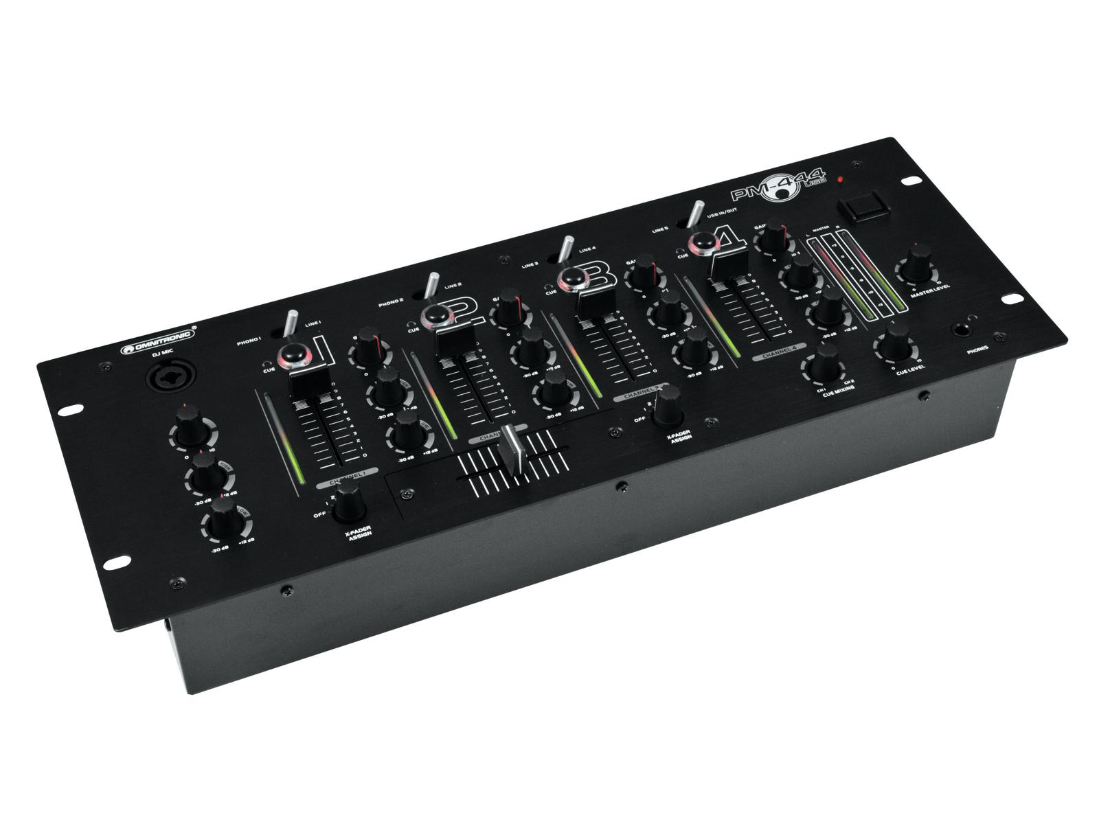 Image of   Omnitronic PM-444USB mixer