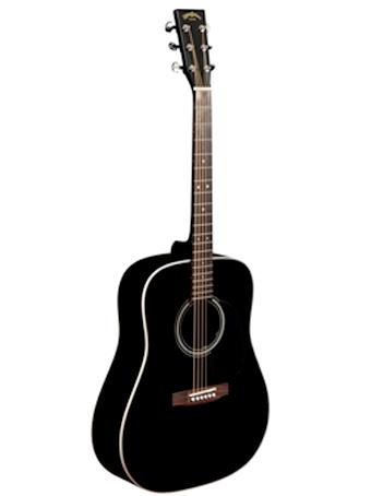 Billede af Sigma DM-1ST-BK western-guitar sort