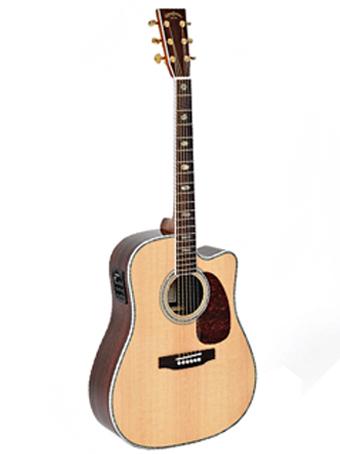 Billede af Sigma DRC-41E western-guitar natur