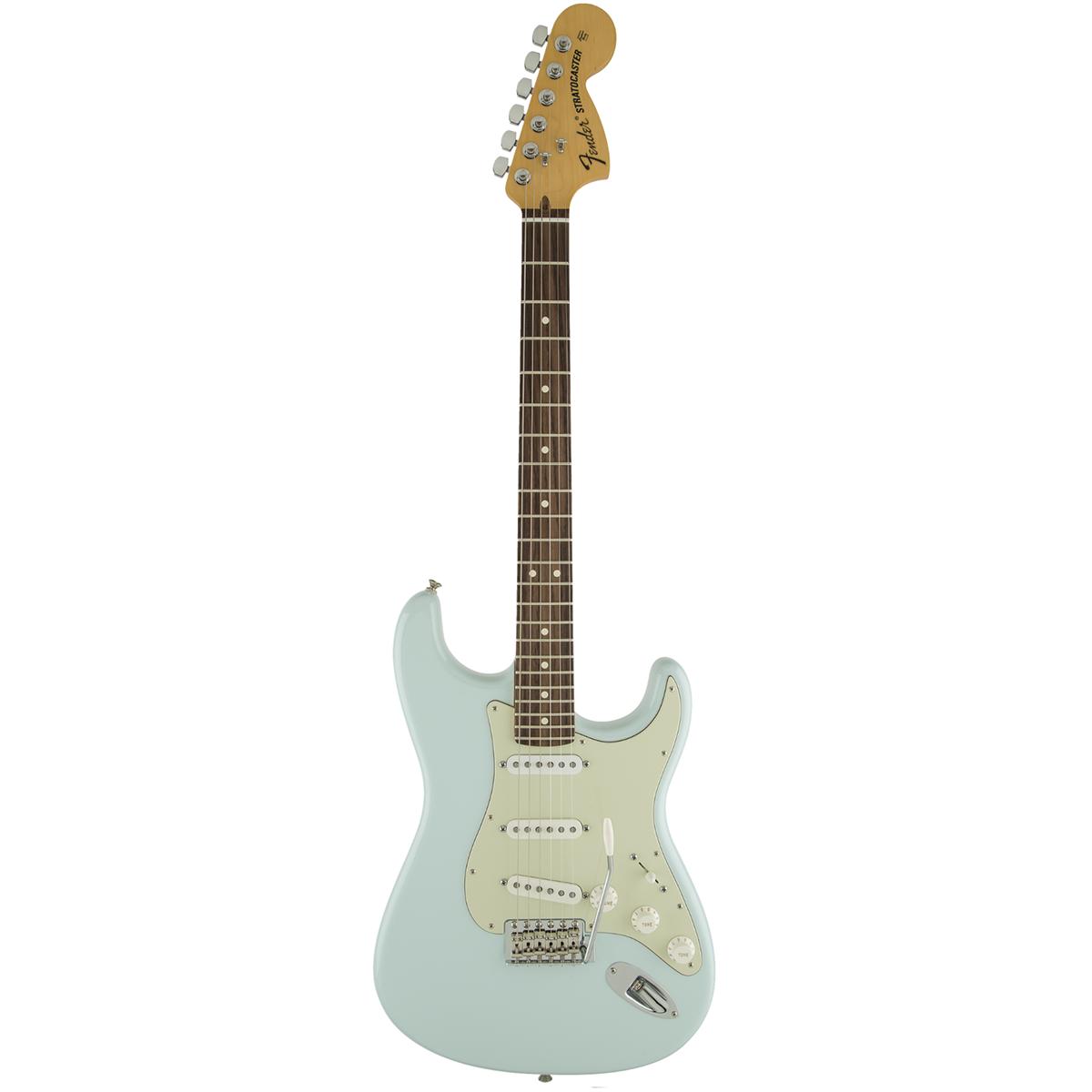 Billede af Fender AmericanSpecialStratocaster,RW,SBL el-guitar sonicblue