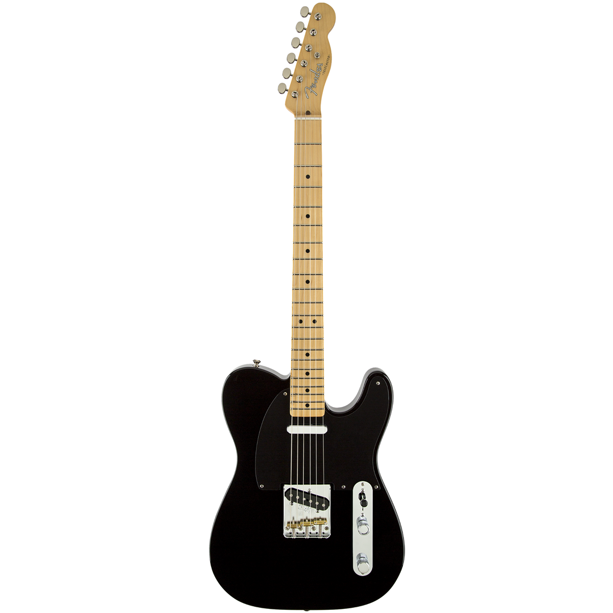 Image of   Fender ClassicPlayerBajaTelecasterMN,BLK el-guitar sort