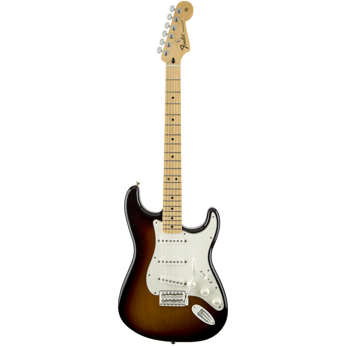 Image of   Fender StandardStratocaster,MN,BSB el-guitar brownsunburst