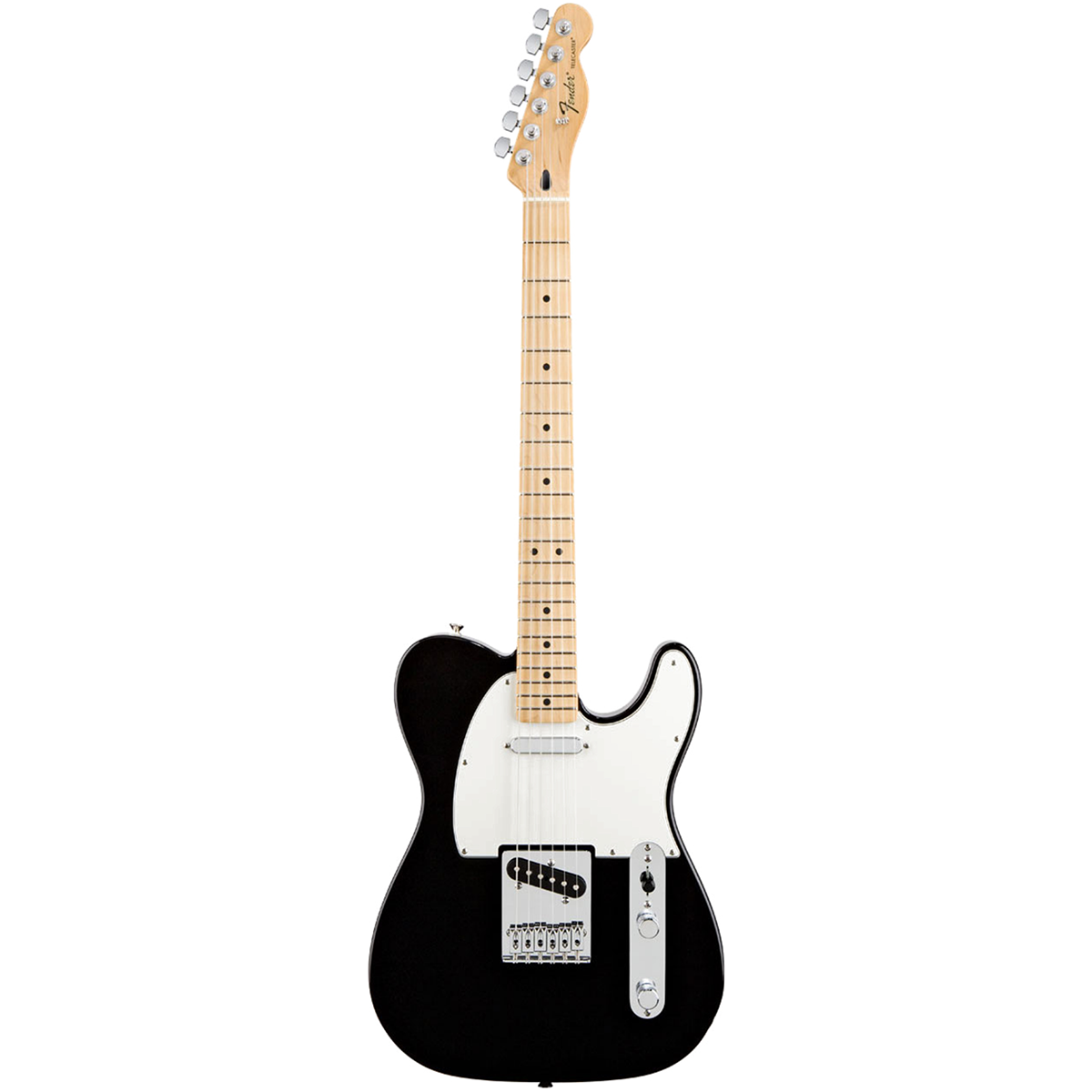 Fender StandardTelecaster,MN,BLK el-guitar sort