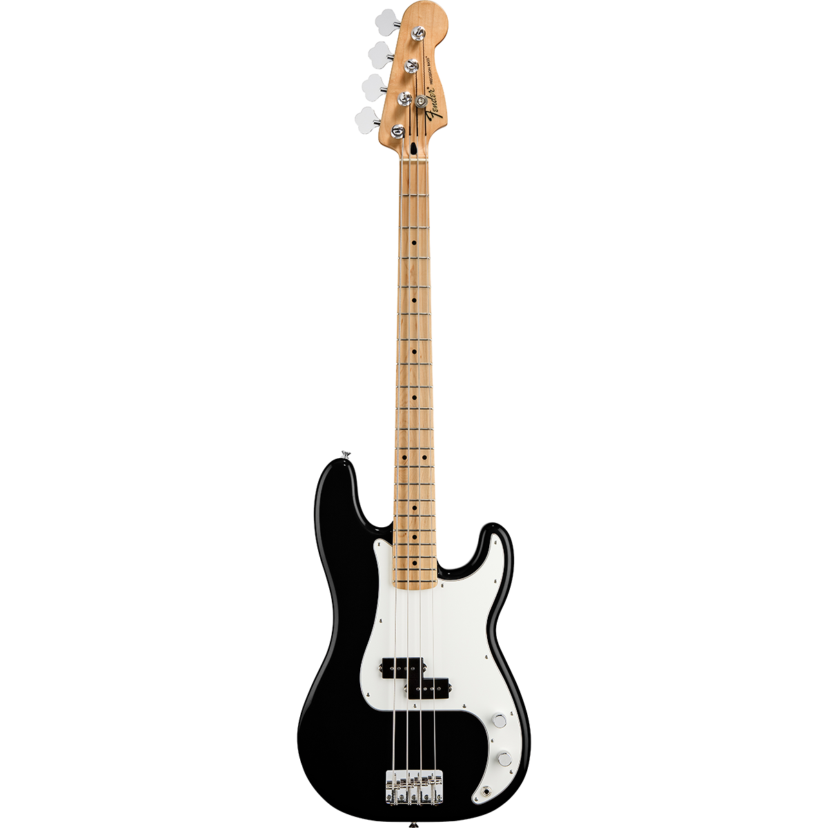 Fender StandardPrecisionBass,MN,BLK el-bas sort