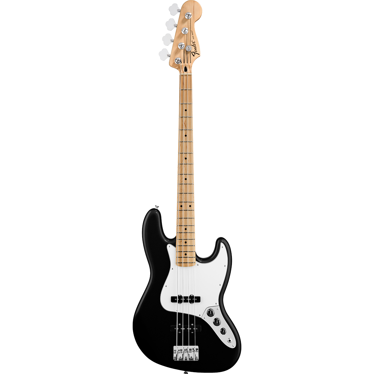 Fender StandardJazzBass,MN,BLK el-bas sort