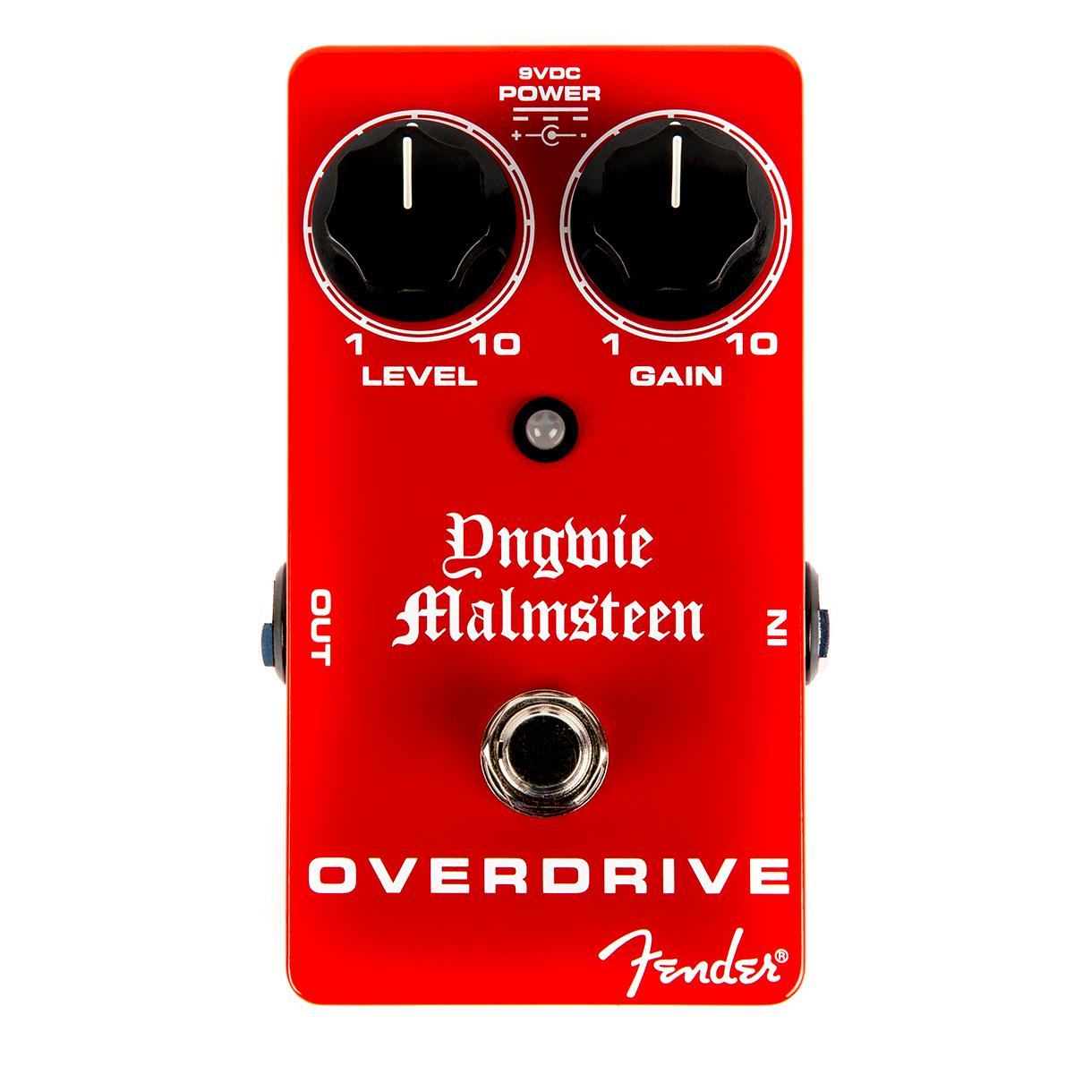 Fender MalmsteenOverdrive guitar-effekt-pedal