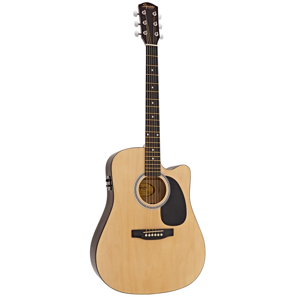 Billede af FenderSquier SA-105CE western-guitar natur