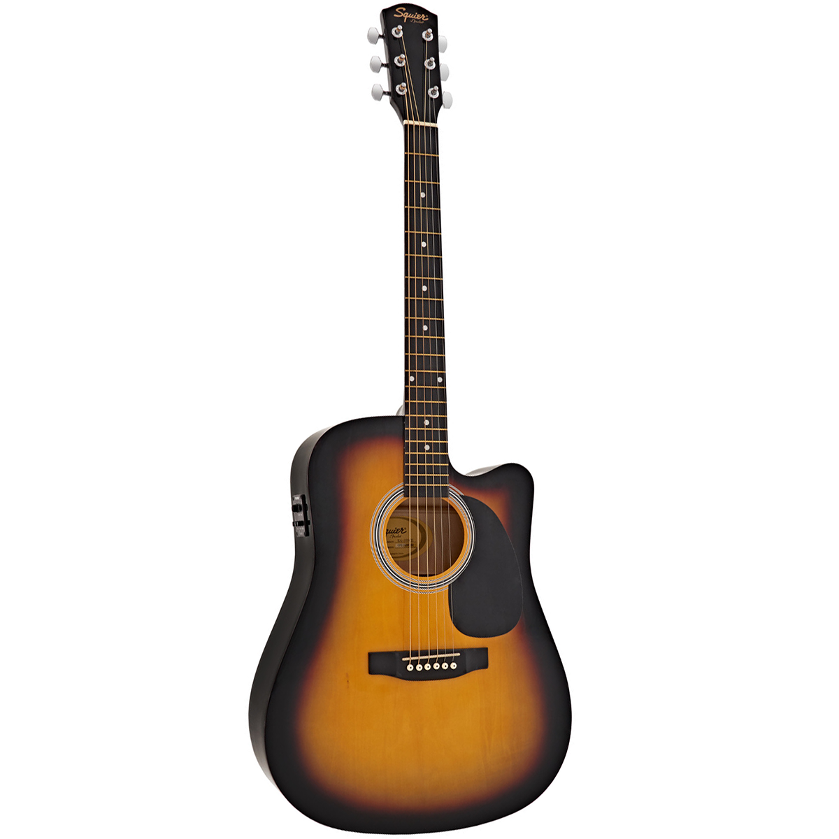Image of   FenderSquier SA-105CE western-guitar sunburst