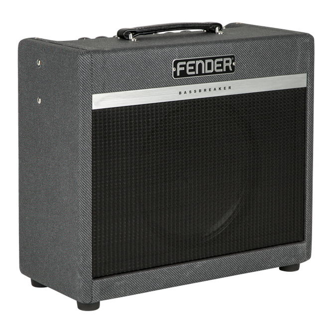 Fender Bassbreaker15combo guitarforstærker grey black