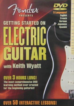 Billede af Fender:GettingStartedOnElectricguitar DVD