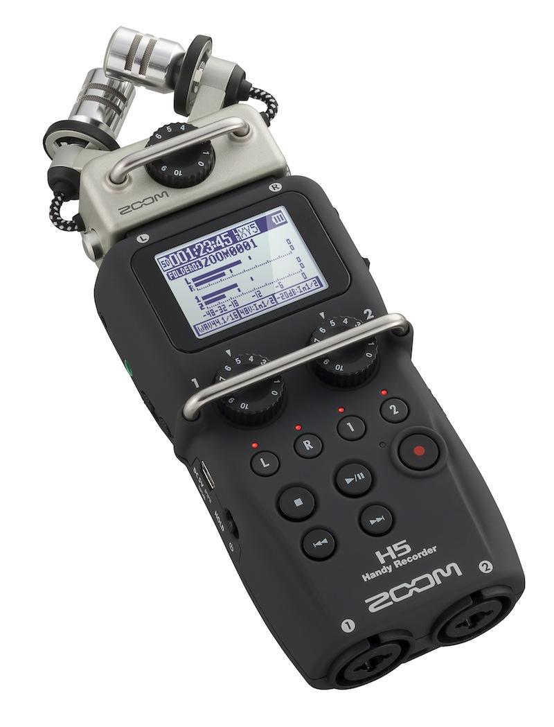 Billede af Zoom H5 handyaudiorecorder