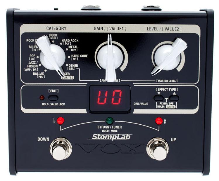 Billede af Vox StomplabIG(1G) guitar-multieffekt-pedal