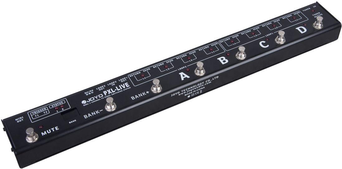 Billede af Joyo PXL-LIVE loop-pedal-router