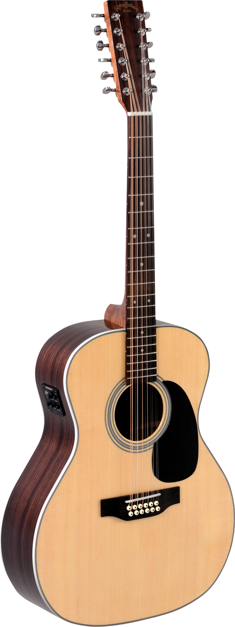 Billede af Sigma JR12-1STE western-guitar,12-strenget natur