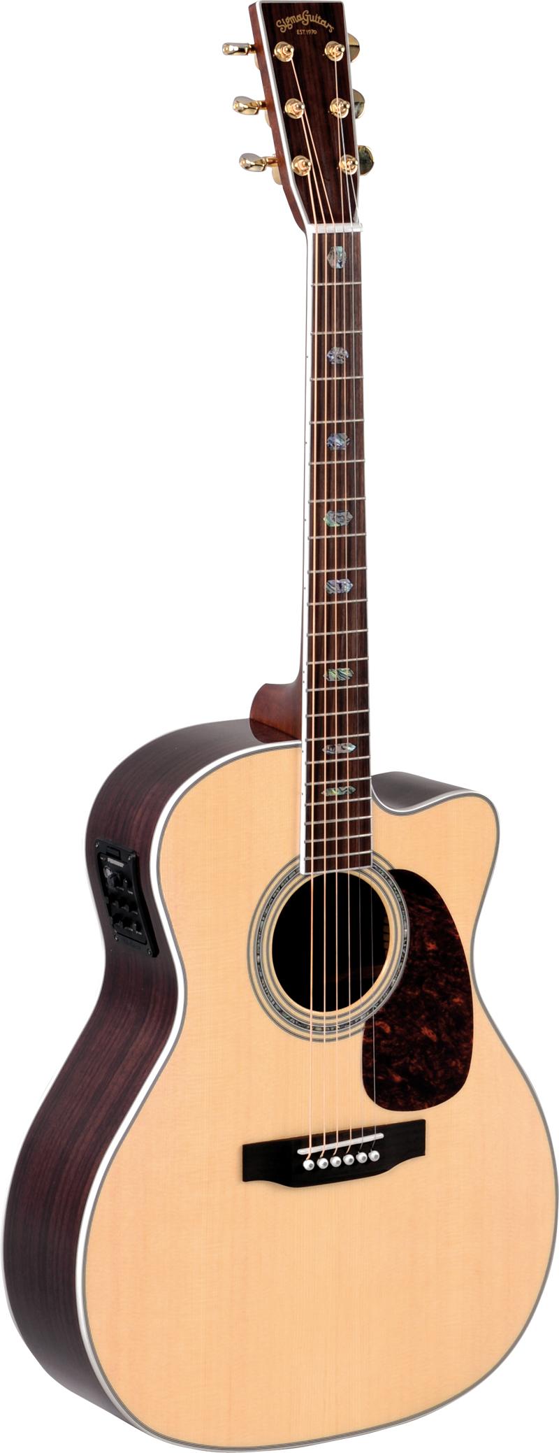 Billede af Sigma JRC-40E western-guitar natur