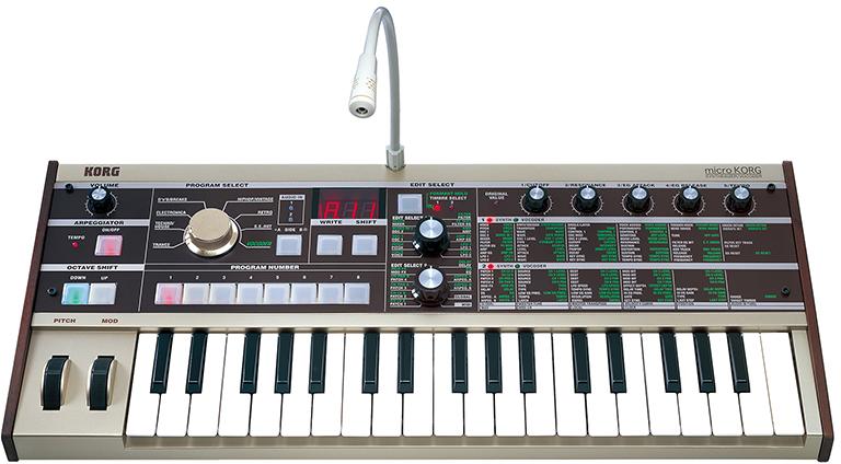 Billede af Korg MicKroKorg synthesizer/vocoder