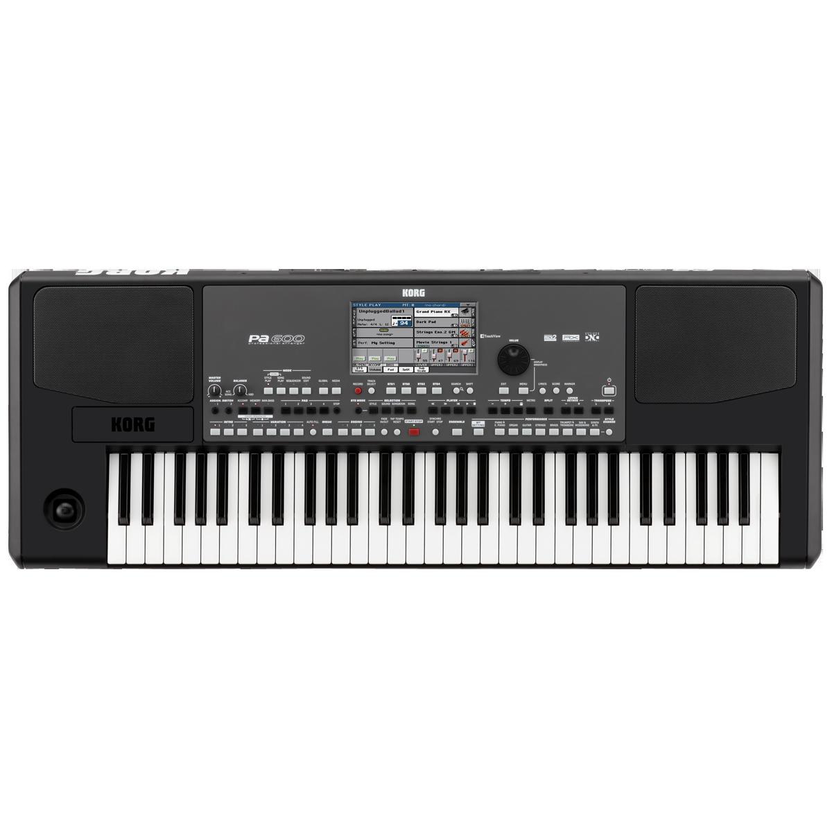 Billede af Korg PA-600 keyboard sort