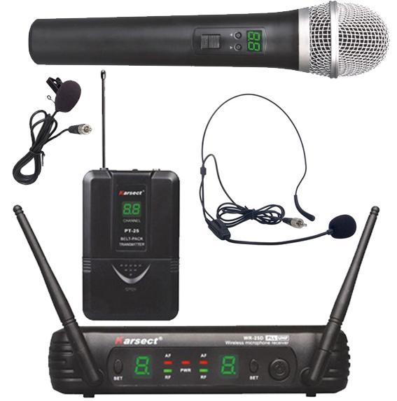 Billede af Karsect WR-25DHT25-PT25 trådløstdobbeltmikrofon-sæt