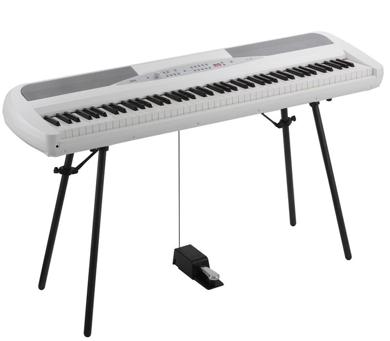 Image of   Korg SP-280WH el-klaver hvid