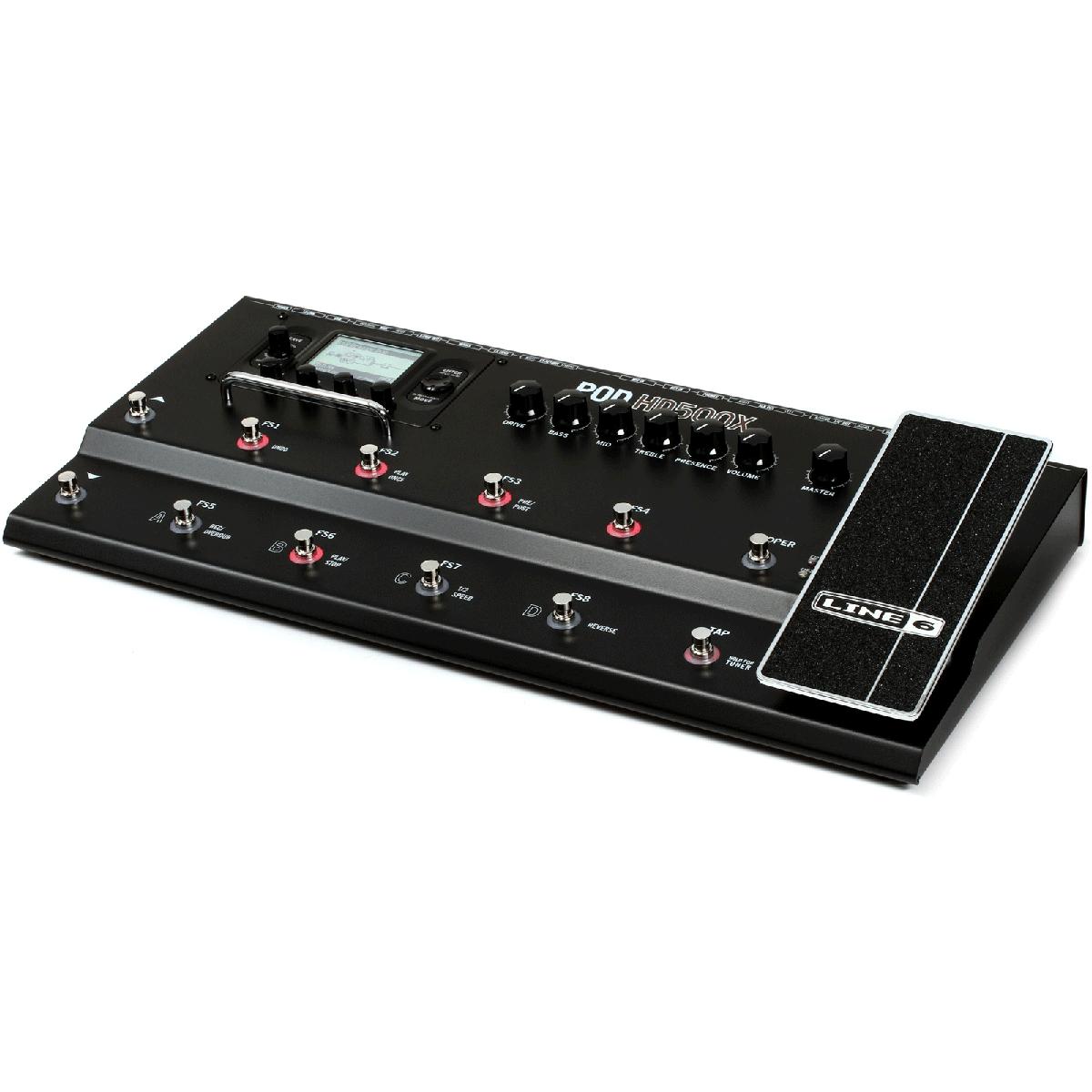 Billede af Line6 PodHD500X guitar-multieffekt-pedal