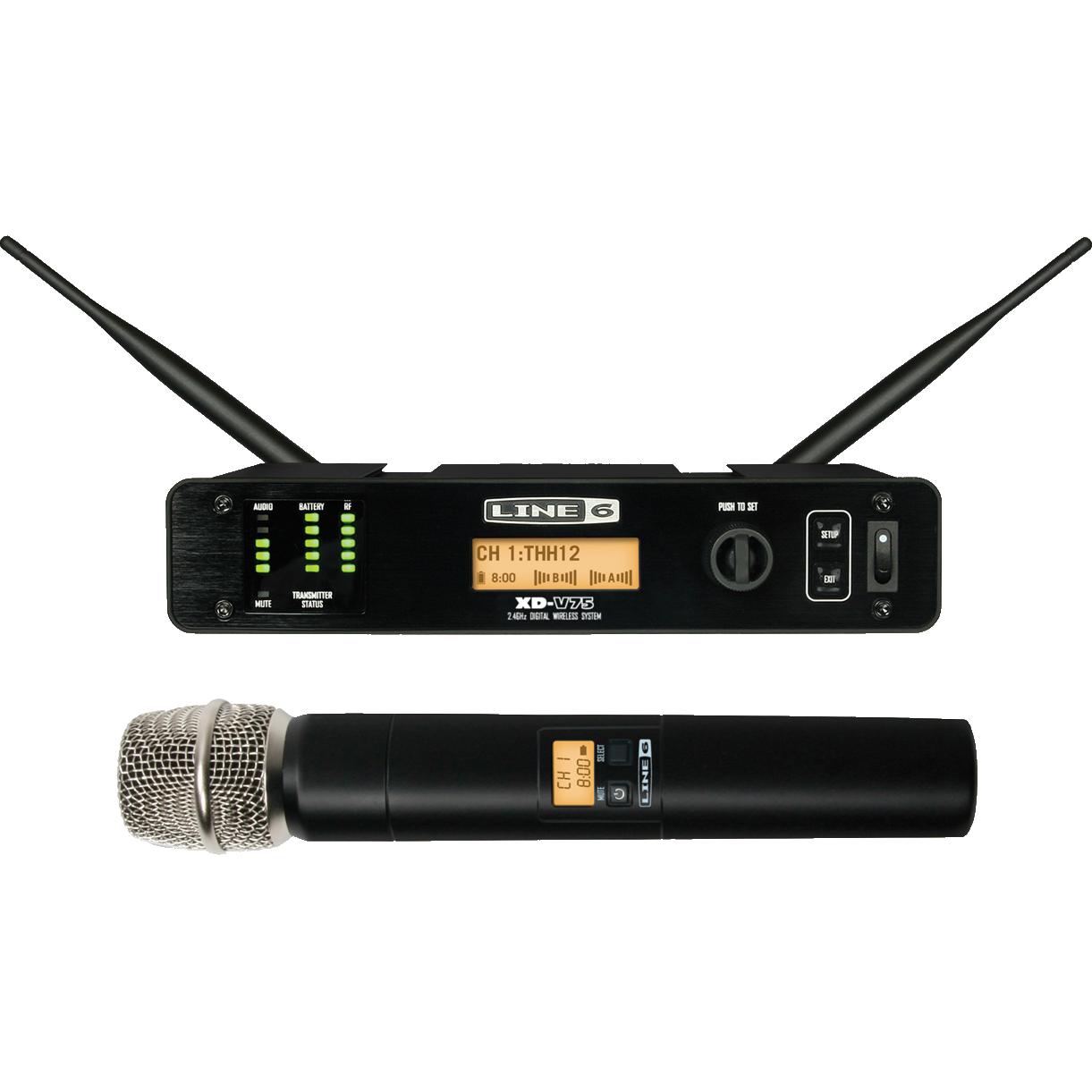Billede af Line6 XD-V75 trådløsthåndholdtsæt